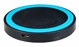 BULK Wireless charger pad, 1A, Blue WCP-BL